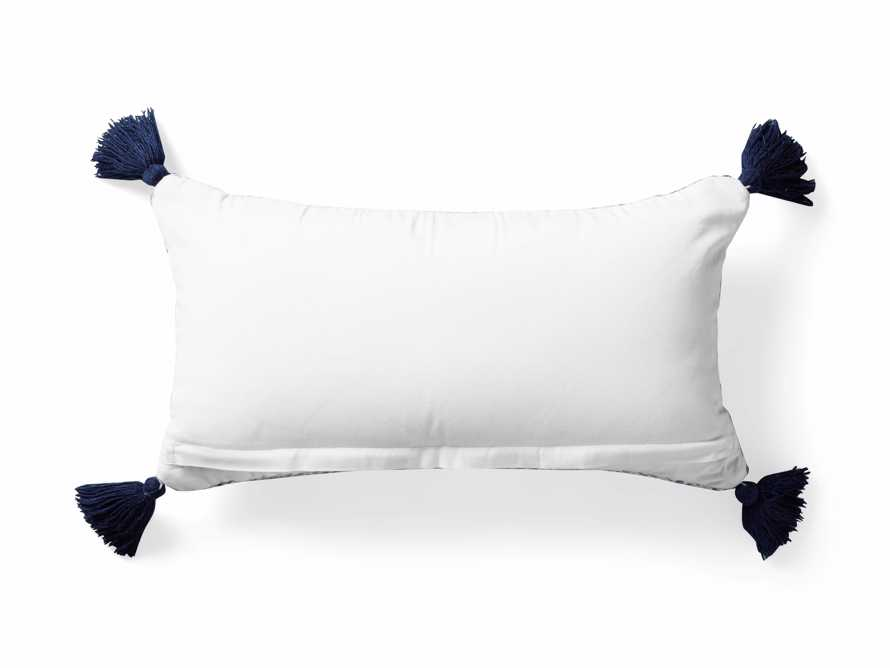 Alix Tassel Outdoor Lumbar Pillow, slide 5 of 8