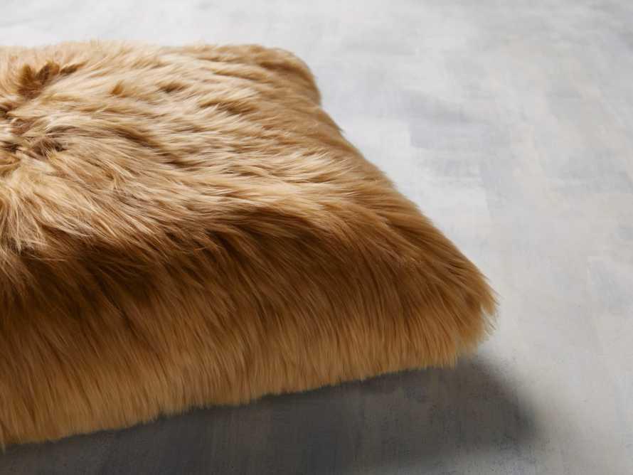 Alpaca Pillow in Gold