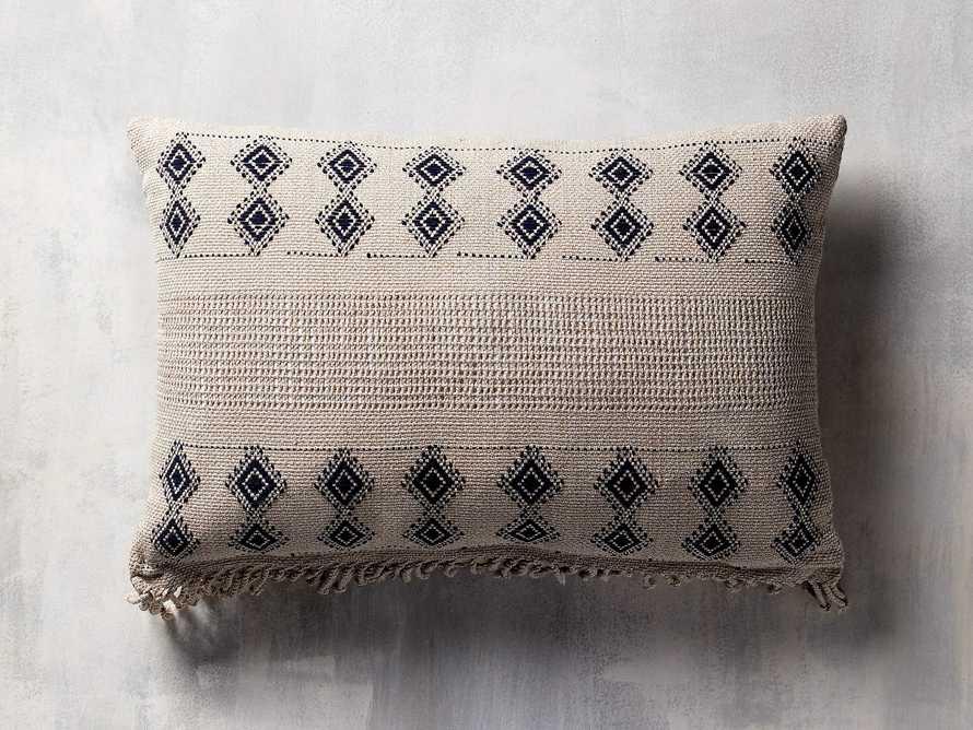 "Agua Moon 20"" Lumbar Pillow in Brown"