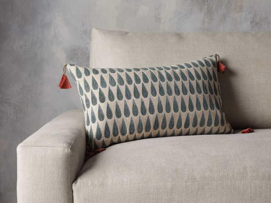 Green Arbor Lumbar Pillow Cover, slide 4 of 5