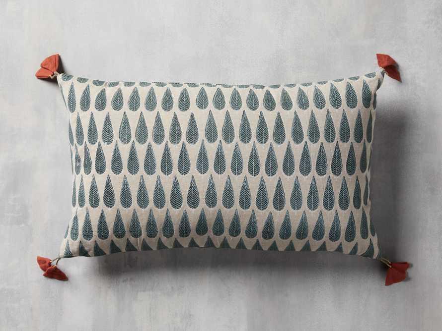 Green Arbor Lumbar Pillow Cover, slide 1 of 5