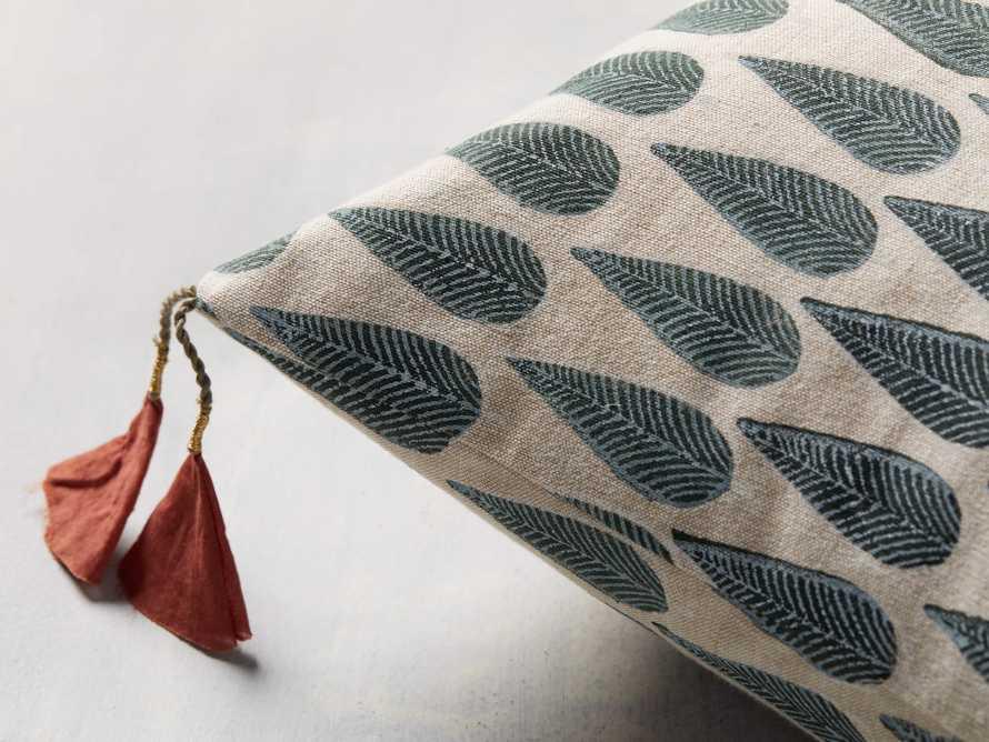 Green Arbor Lumbar Pillow Cover, slide 2 of 5