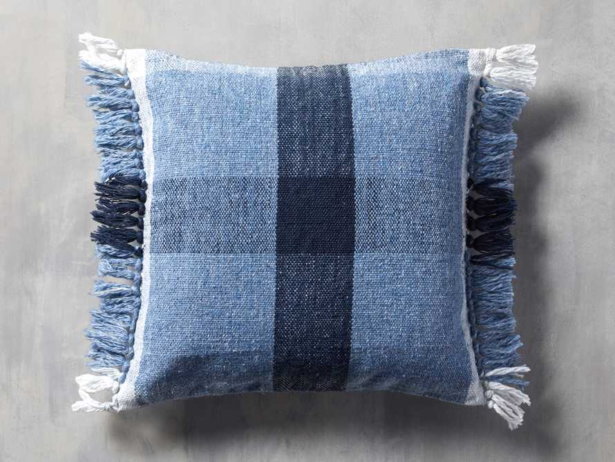 Ashland Blue Outdoor Pillow, slide 1 of 3