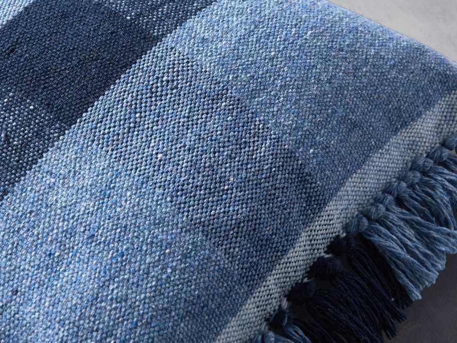 Ashland Blue Outdoor Pillow, slide 2 of 3