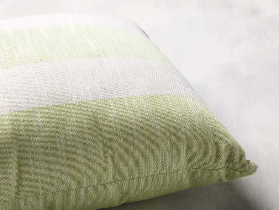 Awning Stripe Pillow in Citron, slide 2 of 3