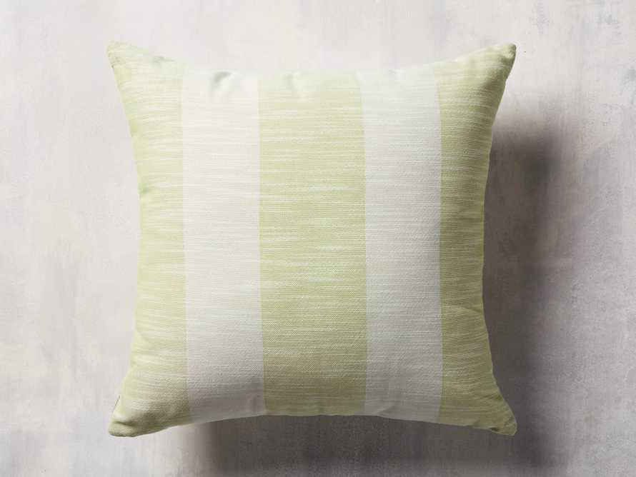 Awning Stripe Pillow in Citron, slide 1 of 3