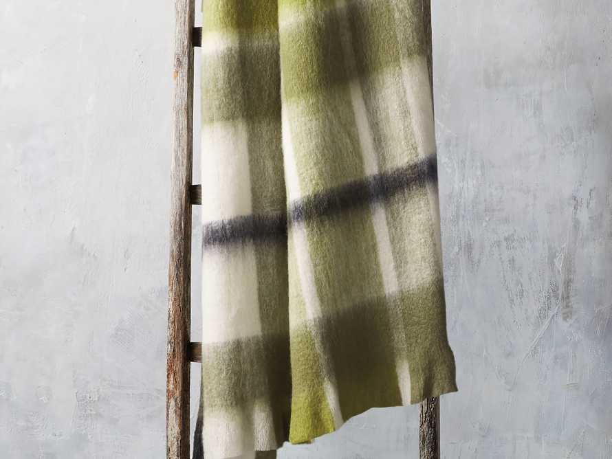 Brushed Plaid Throw, slide 1 of 4