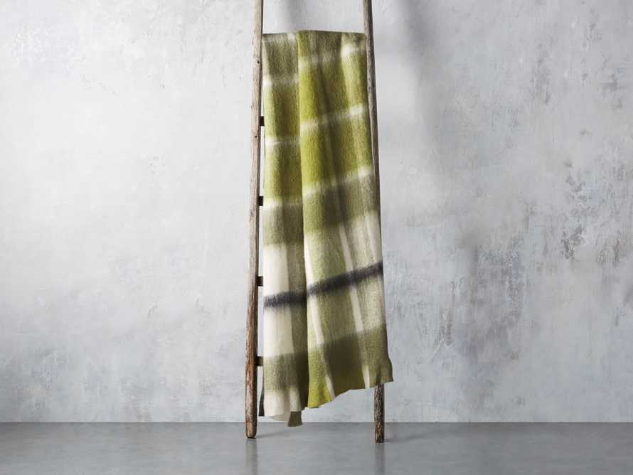 Brushed Plaid Throw, slide 2 of 4