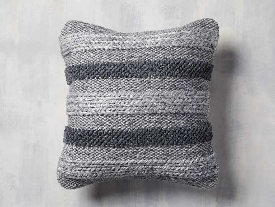 Blake Stripe Outdoor Pillow, slide 1 of 4