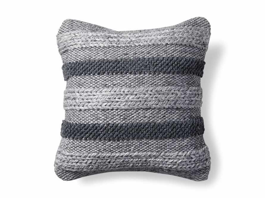 Blake Stripe Outdoor Pillow, slide 4 of 4