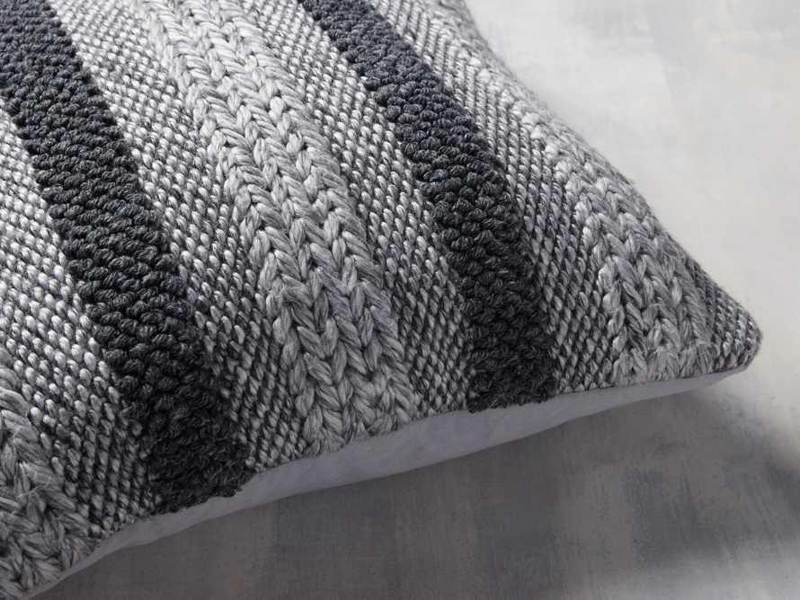 Blake Stripe Outdoor Pillow, slide 3 of 4