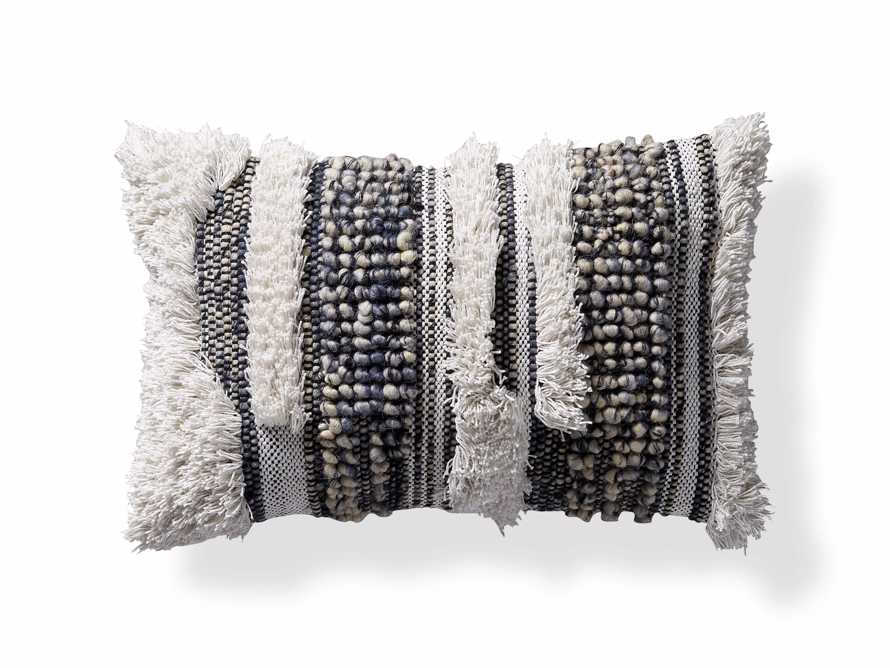 "Boho Stripe 24"" Lumbar Pillow"