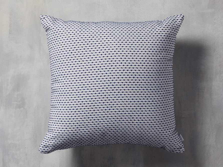 Caledonia Indoor/Outdoor Pillow in Blue, slide 1 of 3