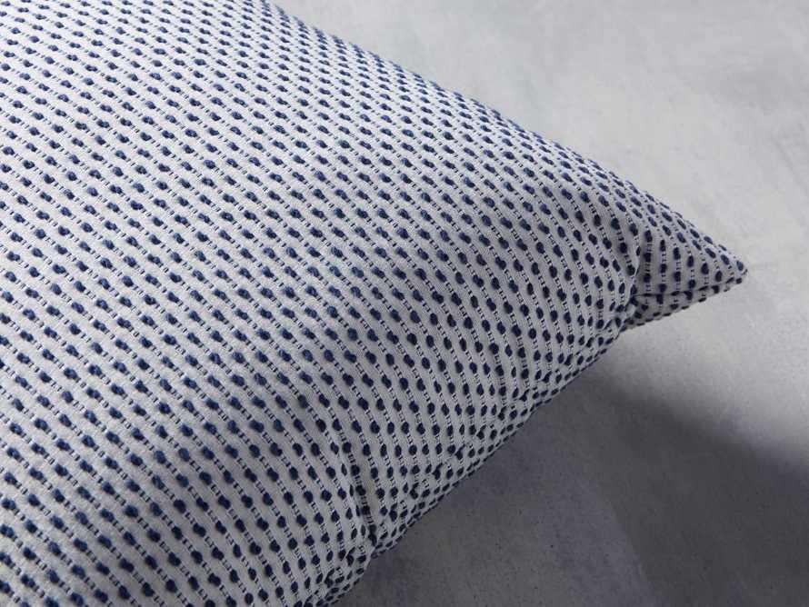 Caledonia Indoor/Outdoor Pillow in Blue, slide 2 of 3