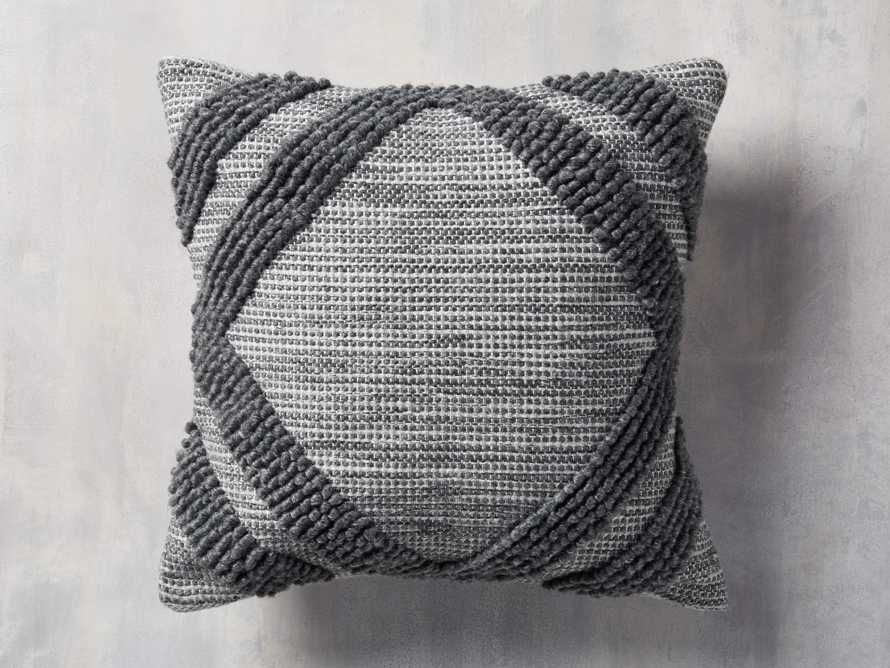 Capitola Outdoor Pillow in Charcoal, slide 1 of 5