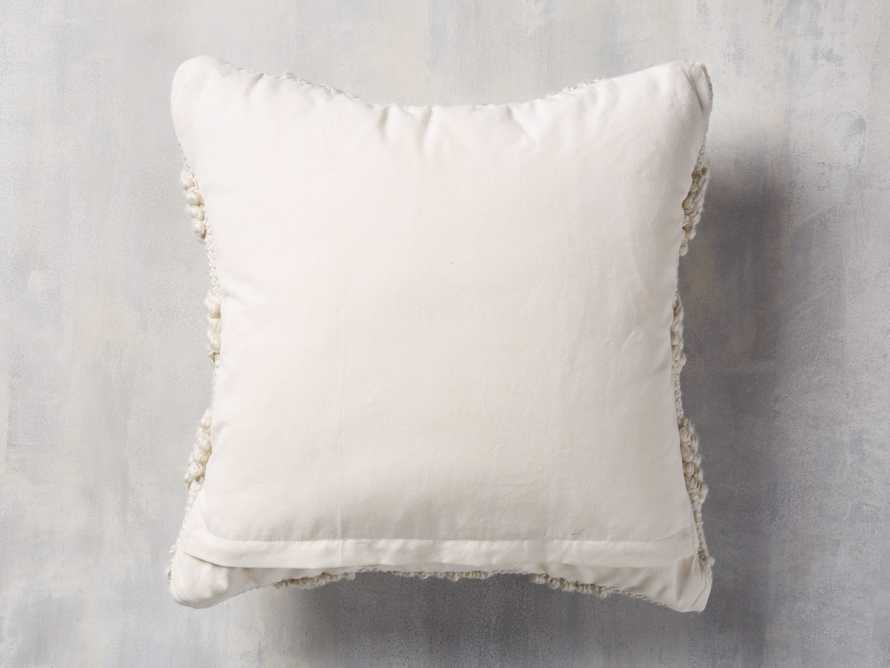 Capitola Pillow in Ivory, slide 2 of 8