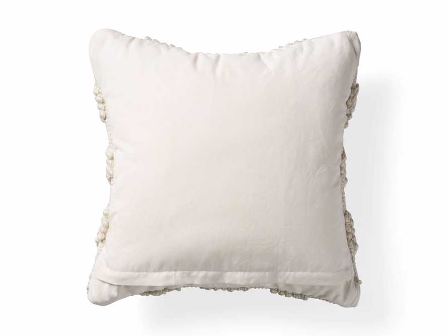 Capitola Pillow in Ivory, slide 5 of 8