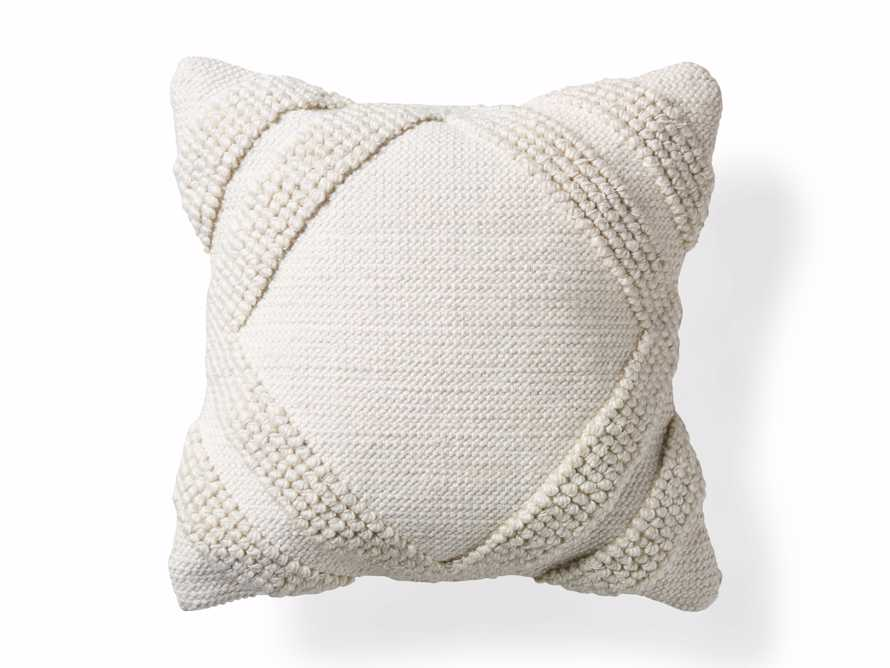 Capitola Pillow in Ivory, slide 4 of 8