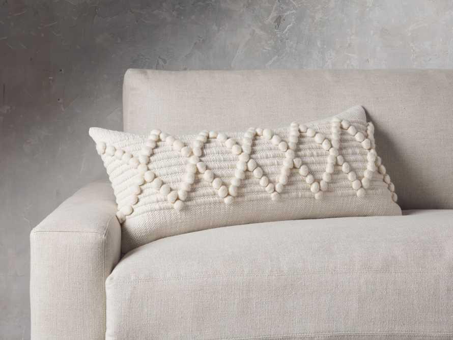 """Chunky Diamond 31"""" Lumbar Pillow, slide 1 of 8"""