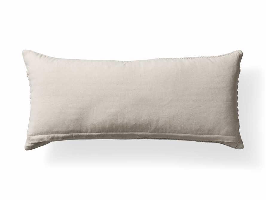 """Chunky Diamond 31"""" Lumbar Pillow, slide 9 of 9"""