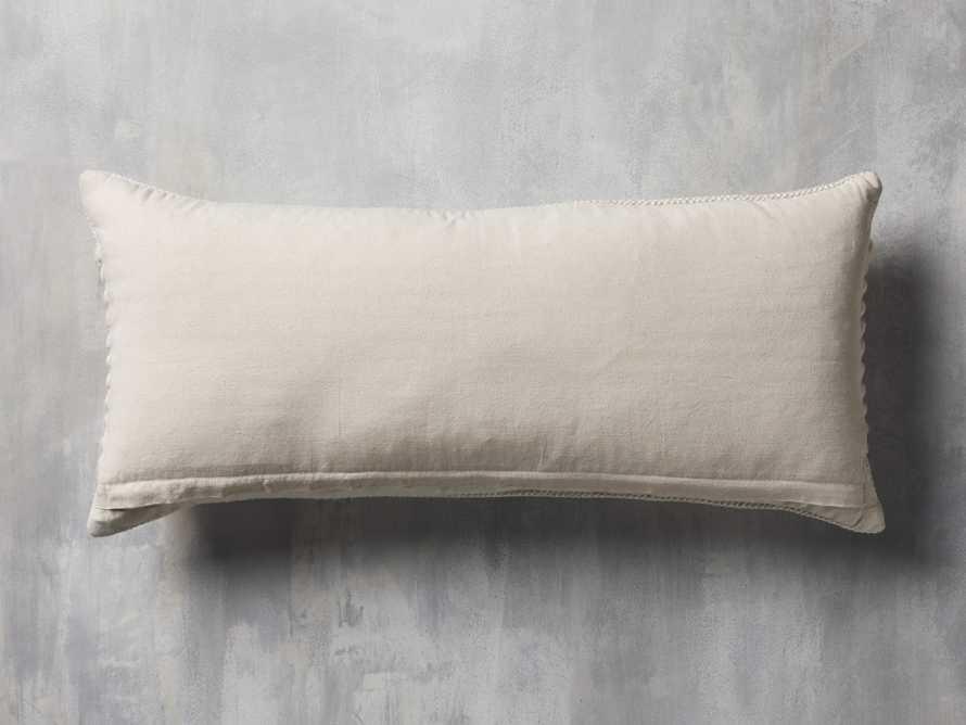 """Chunky Diamond 31"""" Lumbar Pillow, slide 4 of 9"""