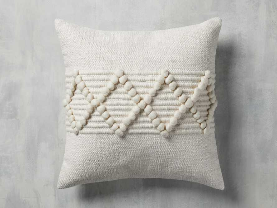 CHUNKY DIAMOND SQUARE PILLOW COVER, slide 1 of 4