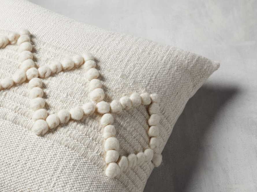CHUNKY DIAMOND SQUARE PILLOW COVER, slide 3 of 4