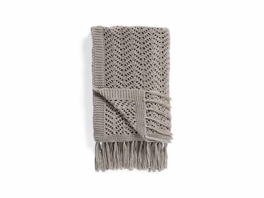 Herringbone Crochet Throw