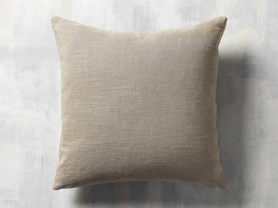 Channel Stitch Hide Brown Pillow Cover, slide 2 of 4