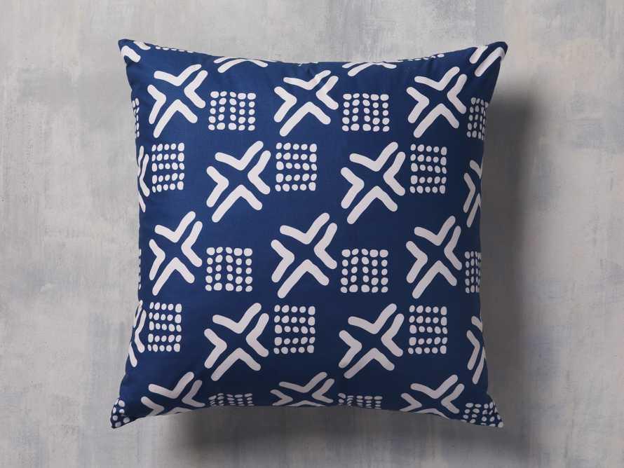 Arhaus x DIOP Mud Navy Pillow Cover, slide 1 of 4