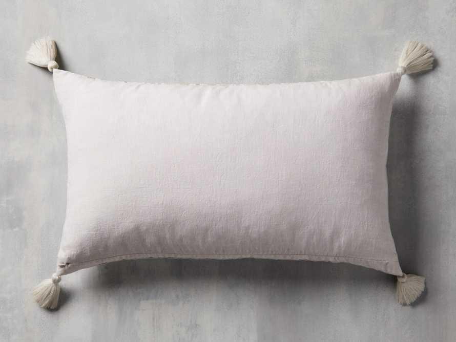 Ivory Fairisle Lumbar Pillow Cover, slide 2 of 5