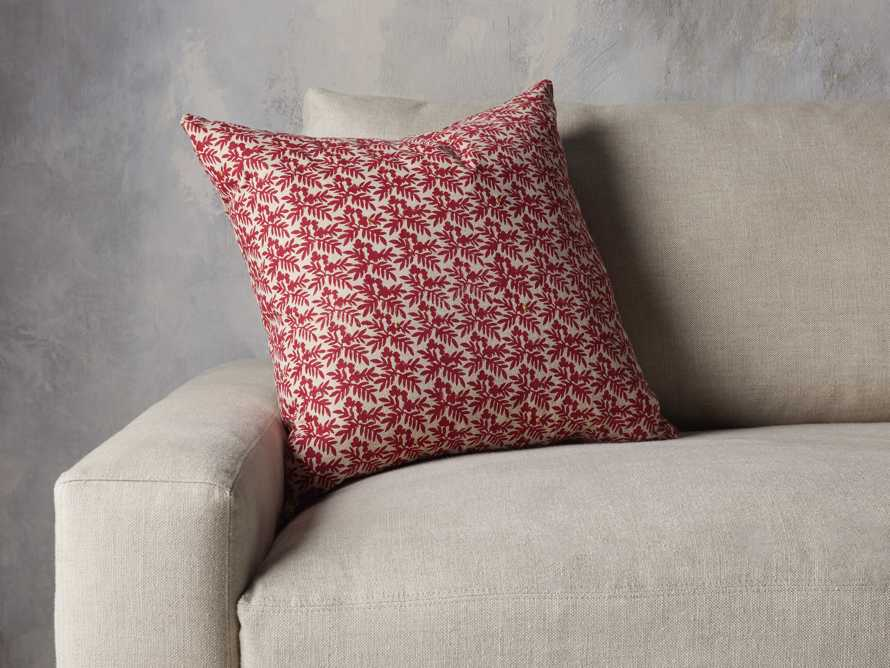 Red Festive Berry Pillow Cover, slide 3 of 4