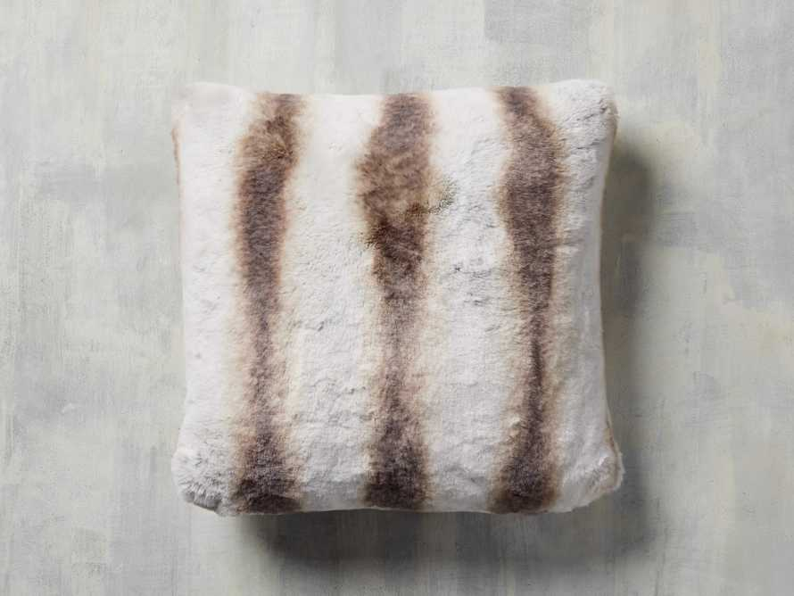 Faux Fur Chinchilla Pillow, slide 2 of 4