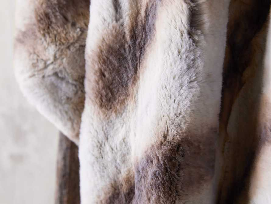 Faux Fur Chinchilla Throw, slide 3 of 6