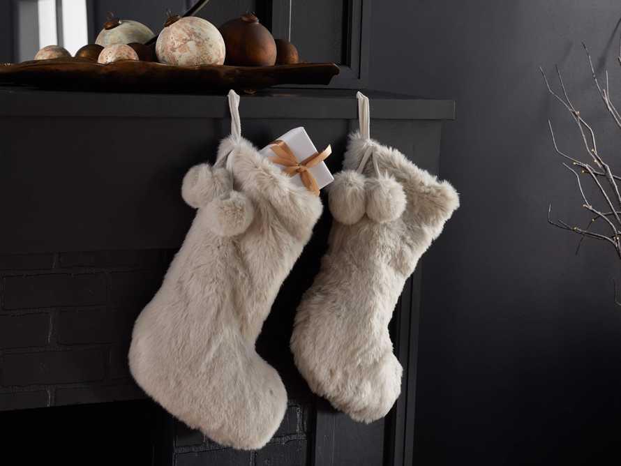 Faux Fur Stocking, slide 4 of 5