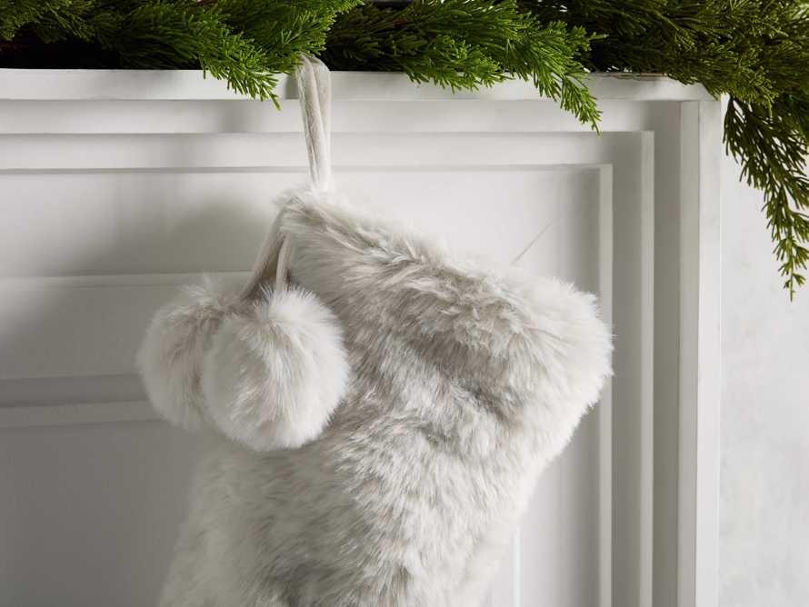 Faux Fur Stocking, slide 2 of 5