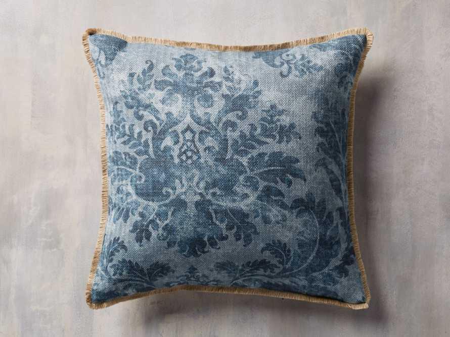 Francesca Pillow in blue