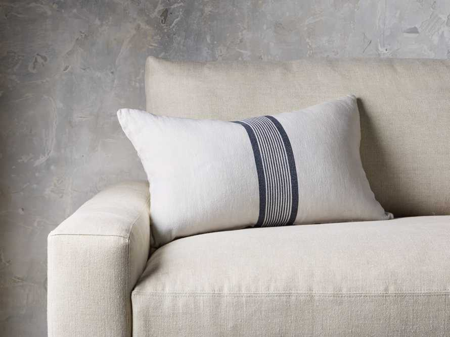 French Stripped Linen Pillow