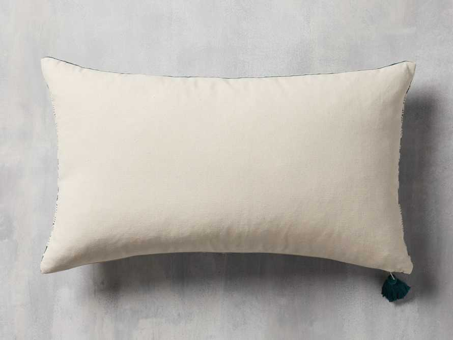 Green Geo Lumbar Pillow Cover, slide 2 of 5