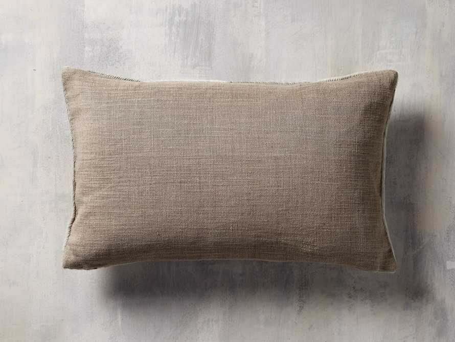 "Channel-Stitch Hyde 20"" Lumbar Pillow"