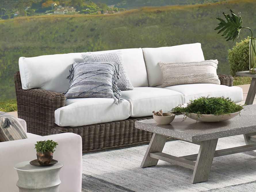 Hardin Outoor Pillow in Grey, slide 4 of 5