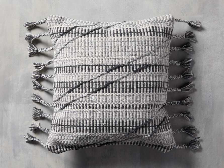 Hardin Outoor Pillow in Grey, slide 1 of 5