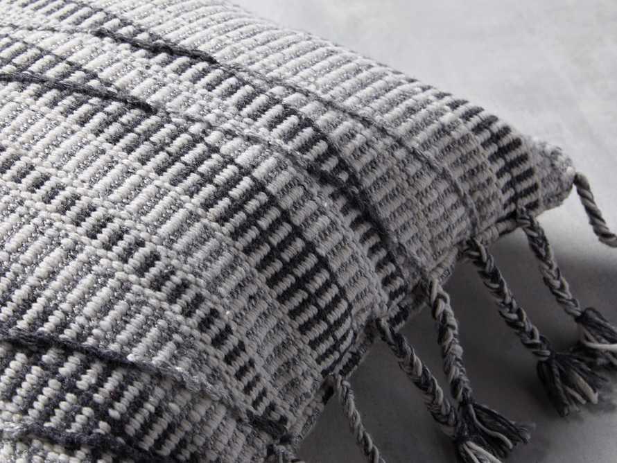Hardin Outoor Pillow in Grey, slide 2 of 5