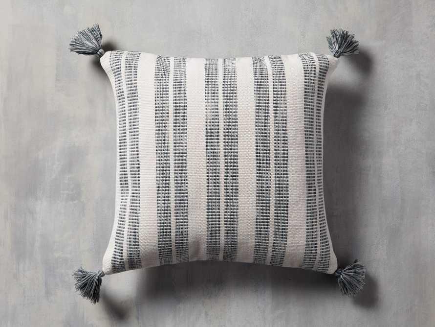 Ingelside Outdoor Pillow in Blue, slide 1 of 5