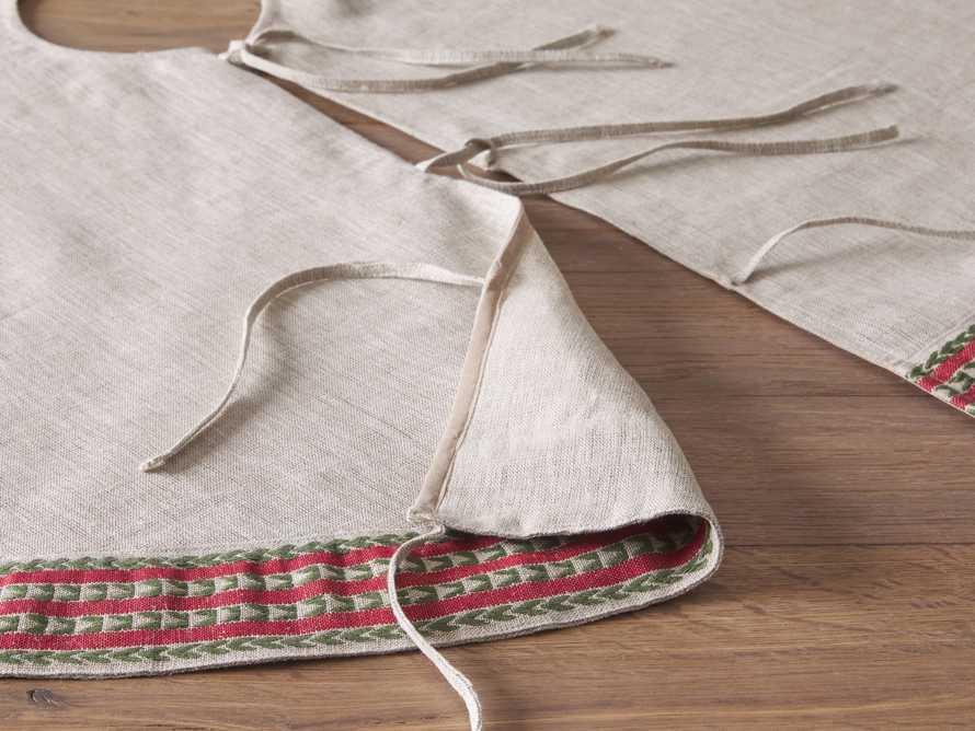 Natural Jute Stripe Tree Skirt, slide 3 of 4