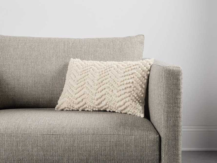 KNOTTED CHEVRON LUMBAR PILLOW COVER, slide 4 of 4