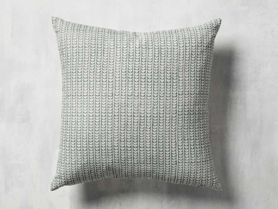 Leela Block Print Pillow, slide 3 of 4