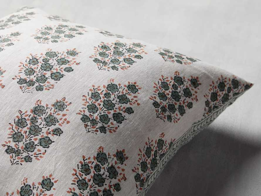 Leela Block Print Pillow, slide 4 of 4