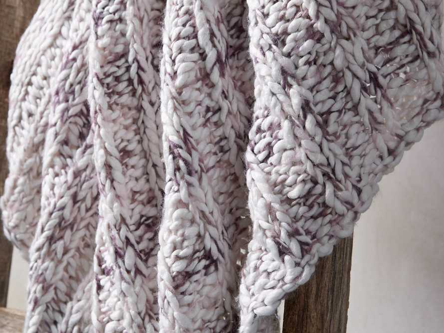 "Chunky Cable Knit 50"" Throw"
