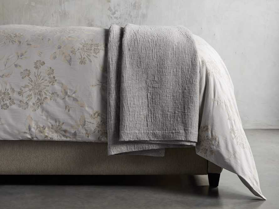 Matelasse Queen Coverlet in Linen